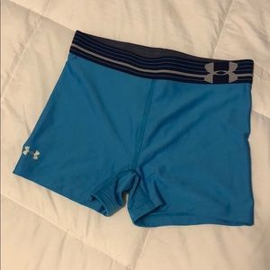 under armor spandex shorts size xs or xxs